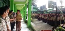 Doa Restu Bagi Siswa Siswi SMK Karya Nugraha Boyolali